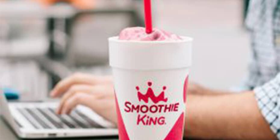 Smoothie King cup