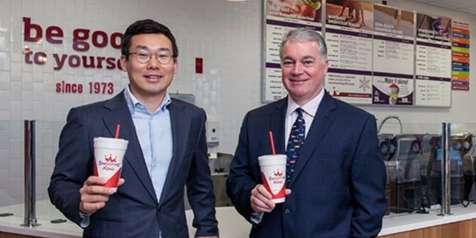Smoothie King executives