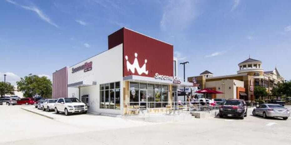 Smoothie King location exterior