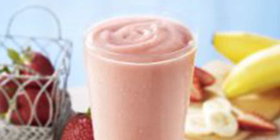 Smoothie King strawberry banana smoothie