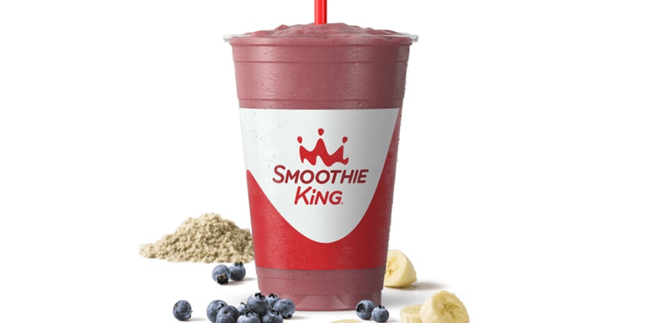 smoothie king blueberry heaven with super grains enhancers