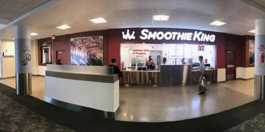 smoothie bar BWI airport