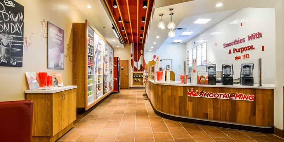 smoothie king interior