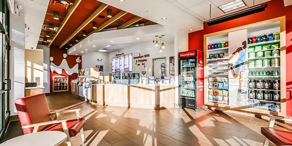 interior of Smoothie King location