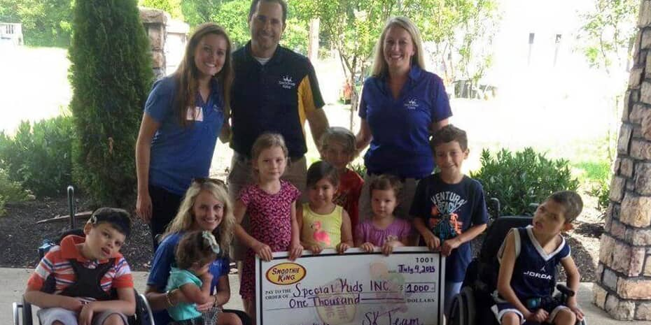smoothie king franchisees donating to special kids