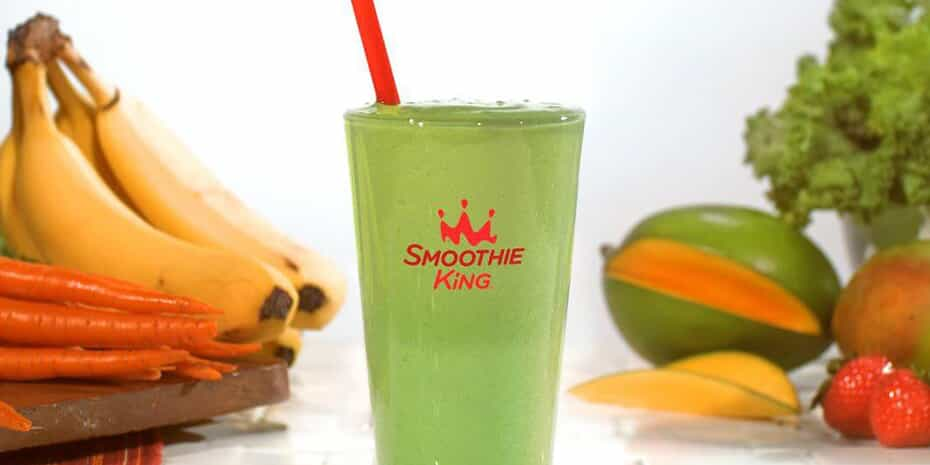 smoothie king smoothie with ingredients